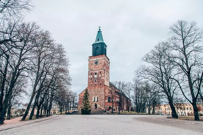 Works outstanding in the Finnish city Turku
