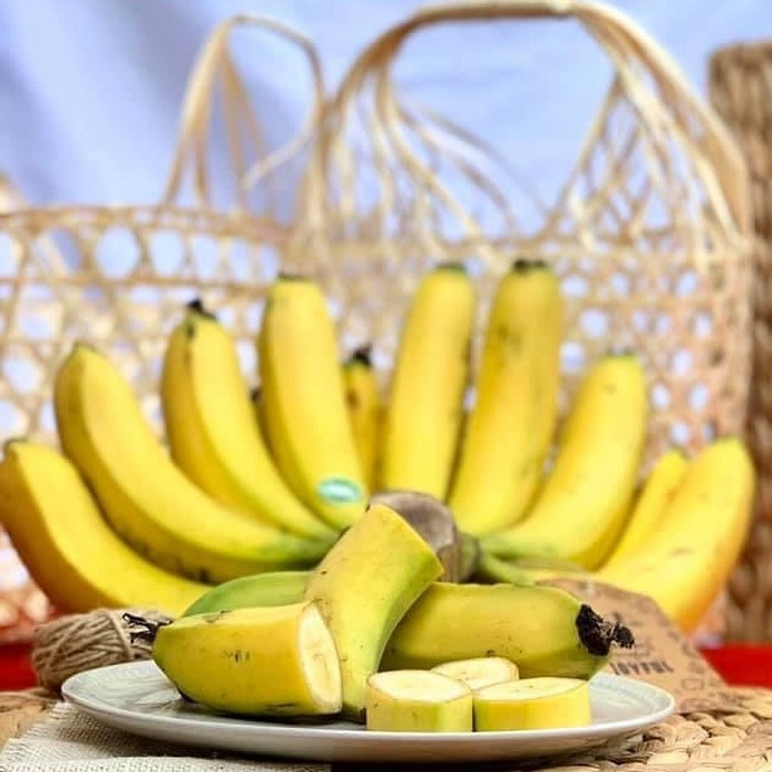Lam Dong specialties bought as gifts - famous and famous Laba bananas