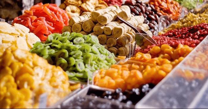 đặc sản Lâm Đồng mua làm quà - hoa quả sấy đủ loại