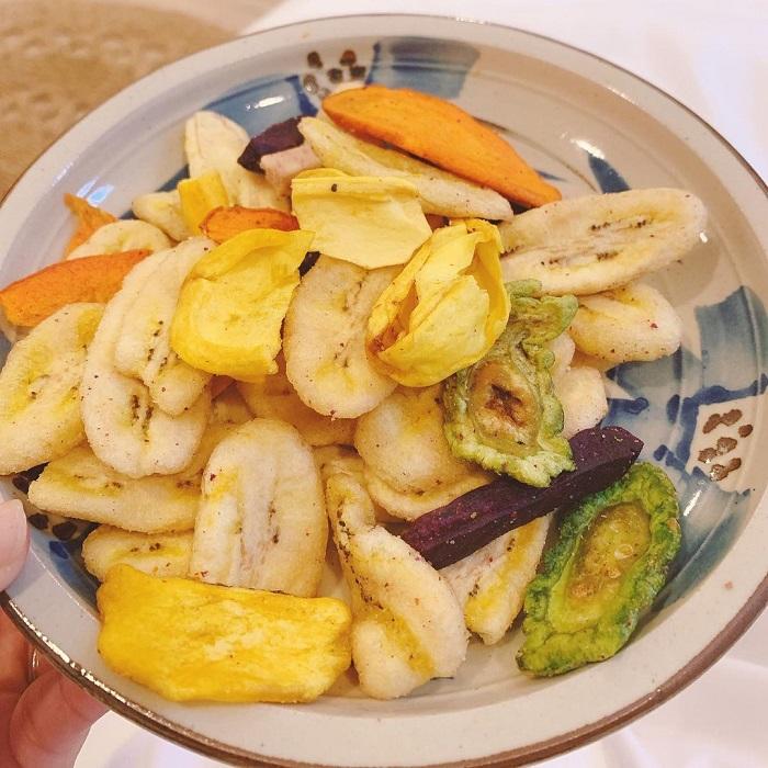 đặc sản Lâm Đồng mua làm quà - hoa quả sấy