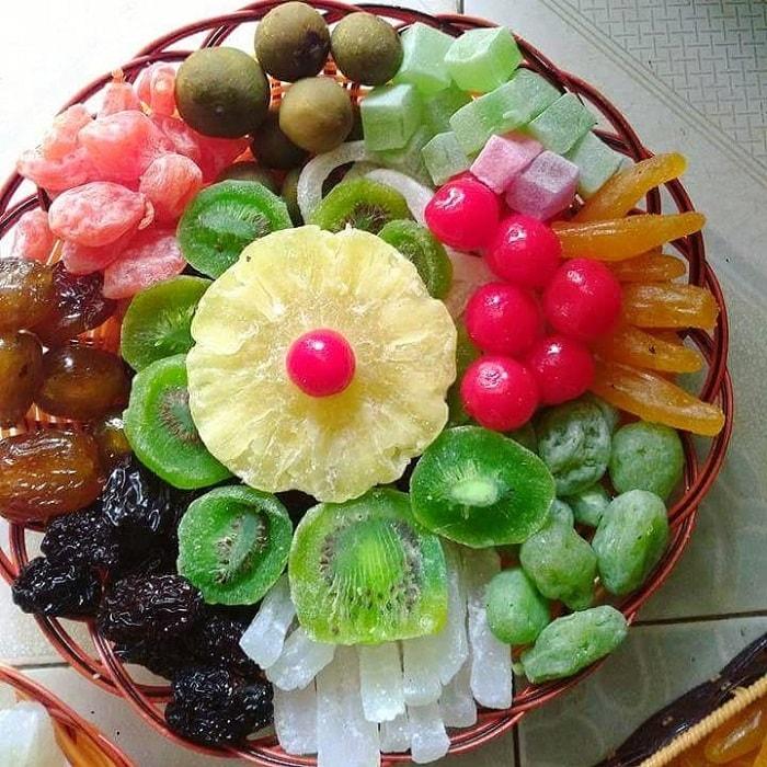 đặc sản Lâm Đồng mua làm quà - mứt hoa quả