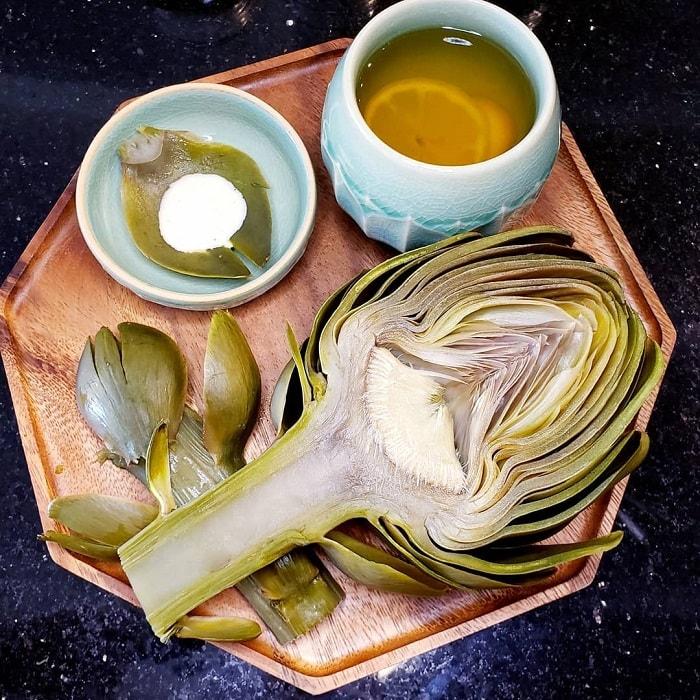 Lam Dong specialties bought as gifts - artichoke tea