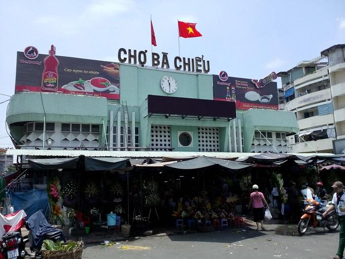 Những địa điểm mua sắm ở Sài Gòn - Chợ Bà Chiểu