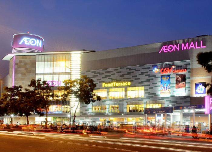 Những địa điểm mua sắm ở Sài Gòn - Aeon Mall Shopping Center Tân Phú