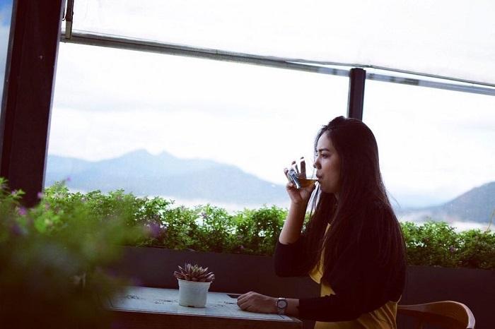 điểm săn mây ở Đà Lạt - dạo qua Panorama cafe