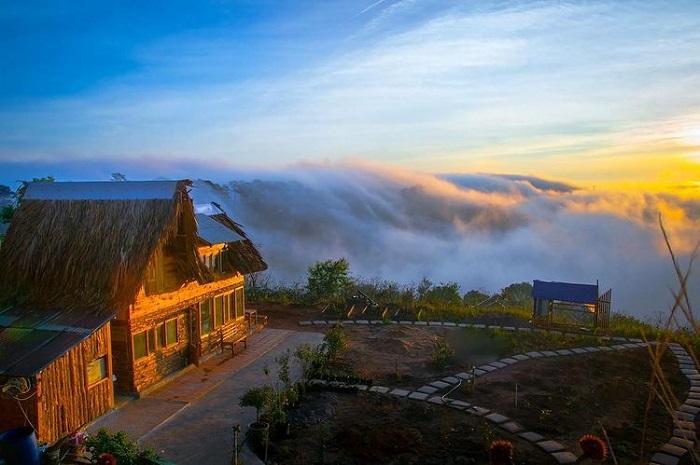 điểm săn mây ở Đà Lạt - thư giãn ở Bình Yên House