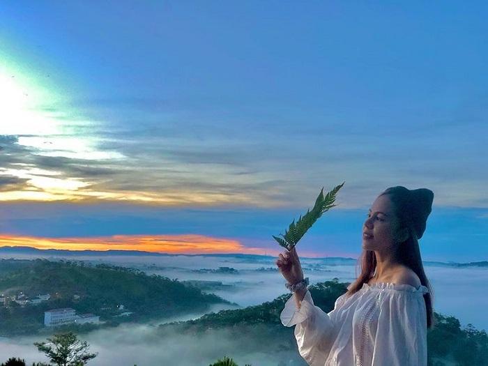 điểm săn mây ở Đà Lạt - check in đồi Đa Phú