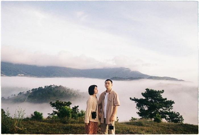 điểm săn mây ở Đà Lạt - check in Đồi Thiên Phúc Đức