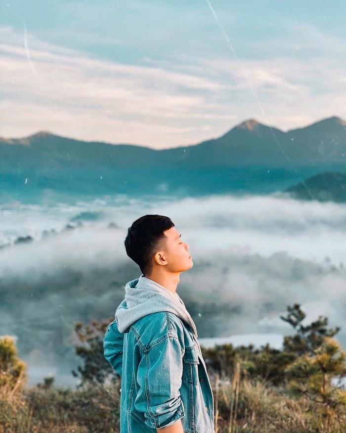 điểm săn mây ở Đà Lạt - ngắm cảnh Đồi Thiên Phúc Đức