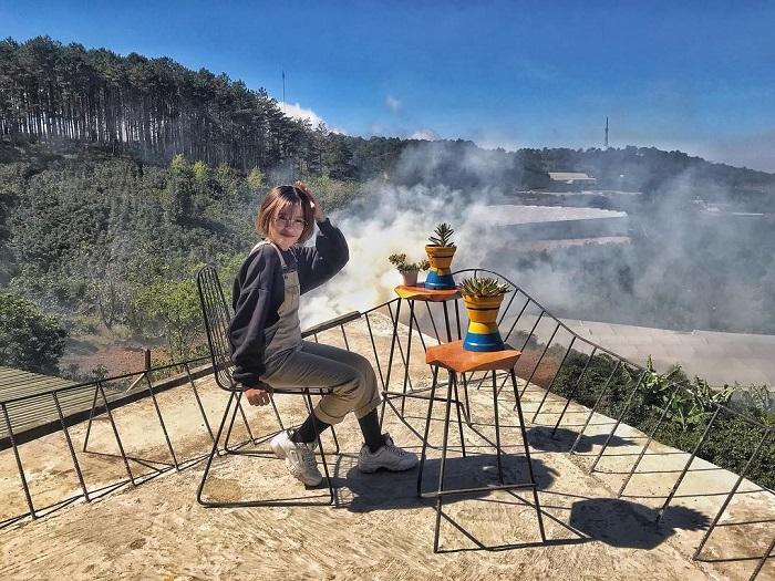 điểm săn mây ở Đà Lạt - check in Gió Cầu Đất Coffee