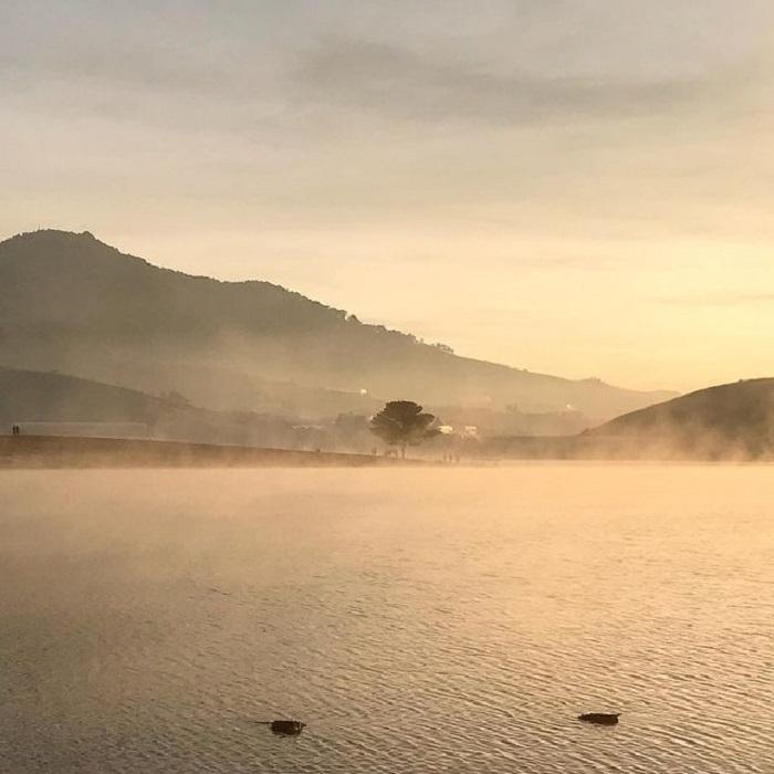 điểm săn mây ở Đà Lạt - hồ Suối Vàng
