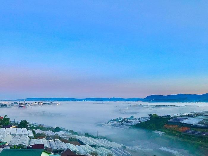 điểm săn mây ở Đà Lạt - thăm khu Trại Mát xanh mướt