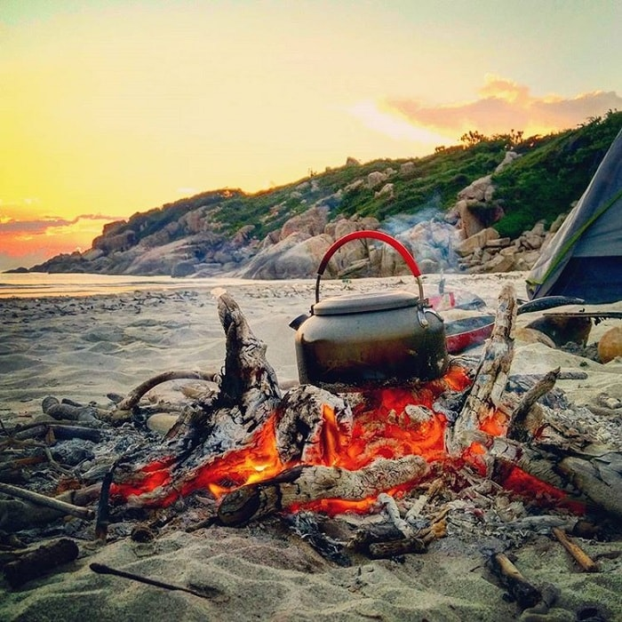 Ninh Thuan Sweet Water Beach will be a great camping picnic place for your vacation