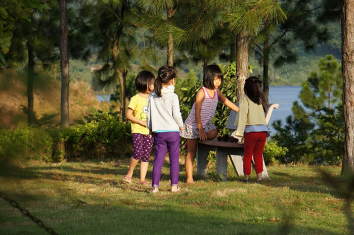 Quang Ninh Khe Che Lake - the ideal camping site for families