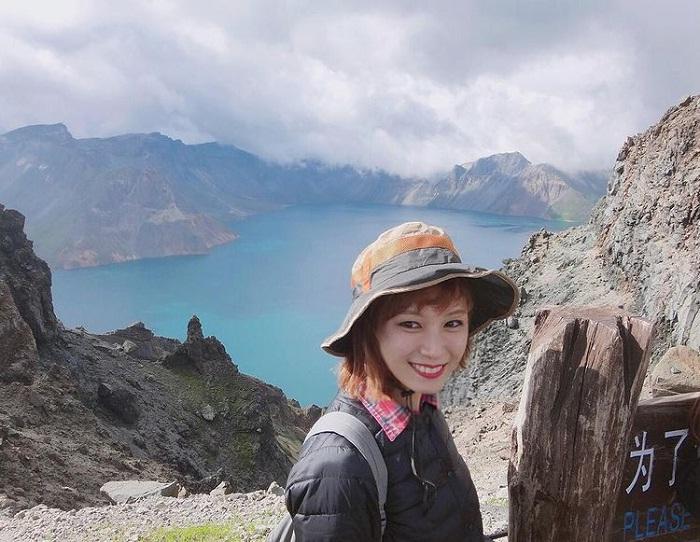 Chon Lake - the highlight at Truong Bach North Korea