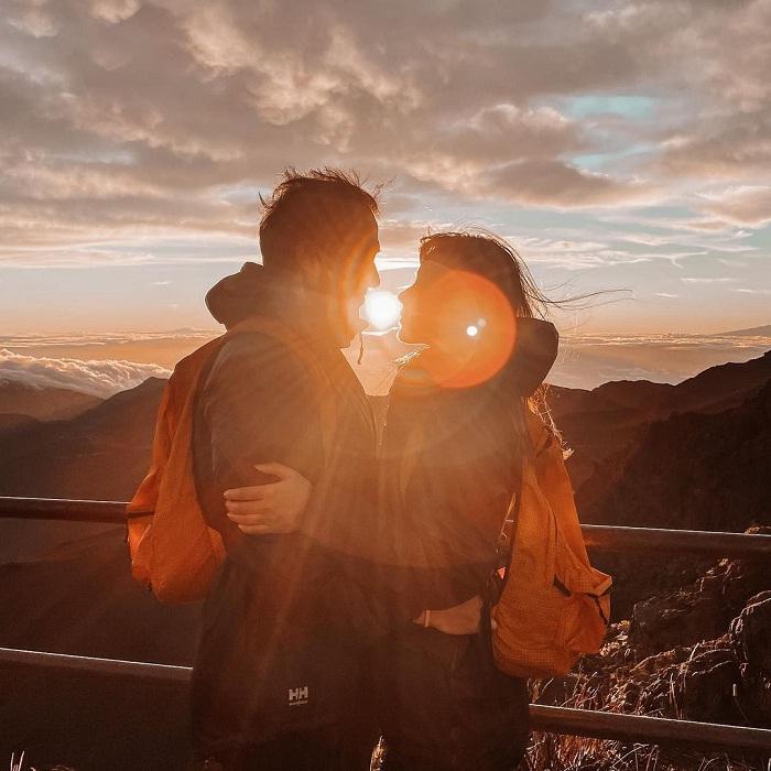 hoàng hôn - khoảnh khắc đáng nhớ tại vườn quốc gia Haleakala