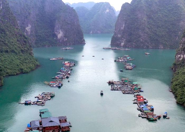 Cua Van Ha Long fishing village - where is the address