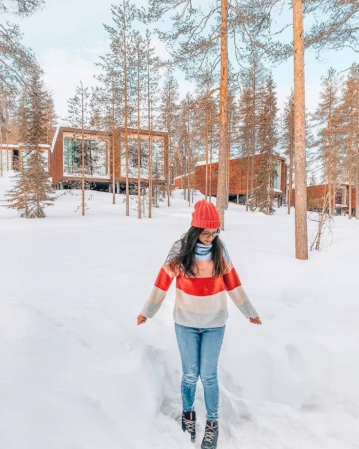Lựa chọn trang phục khi du lịch Phần Lan mùa xuân