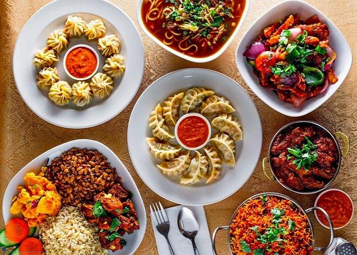 Nền ẩm thực hấp dẫn - Lý do nên đi du lịch Nepal