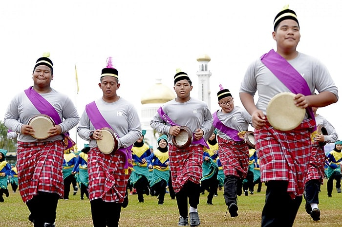 national day is the only place in brunei
