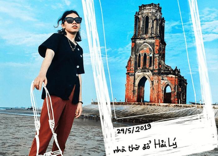 Thỏa sức 'bung lụa' bên nhà thờ đổ Nam Định cho team sống ảo