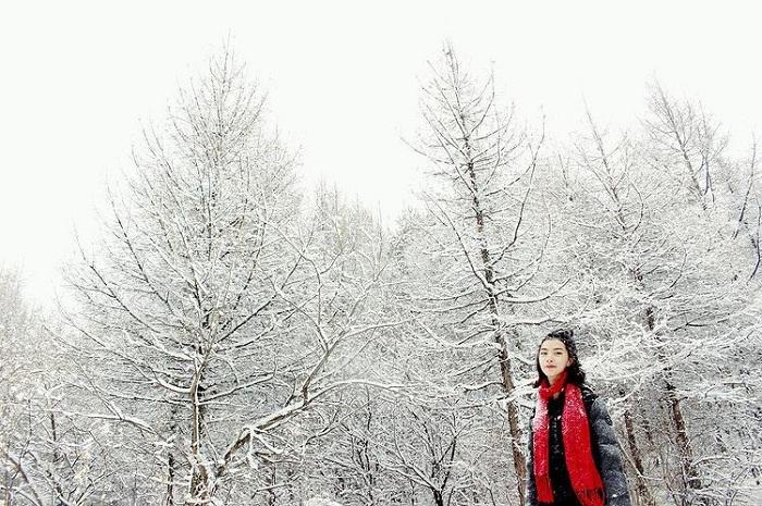 winter - interesting time to visit Truong Bach Korea mountain