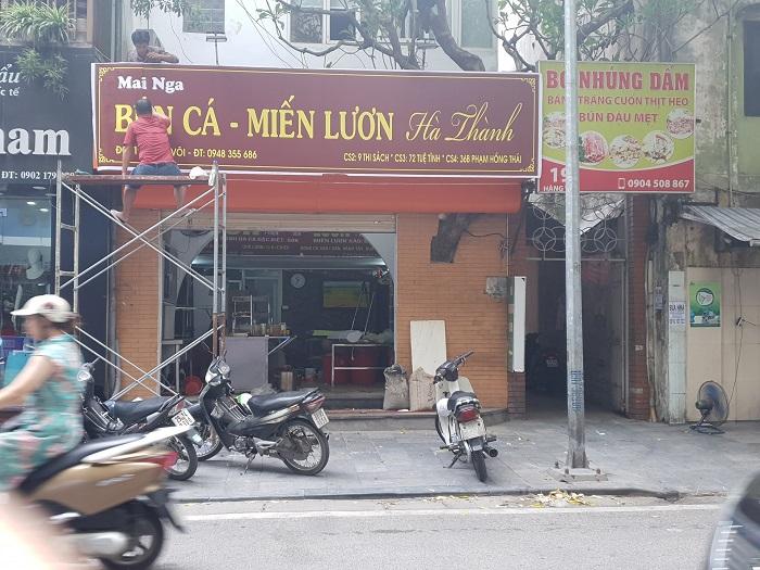 bún cá bà Nga - Quán bún cá ngon ở Hà Nội