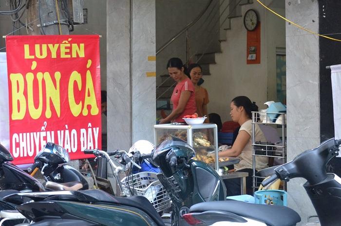 Nhắc đến các quán bún cá ngon ở Hà Nội không thể quên quán bún cá hàng Đậu
