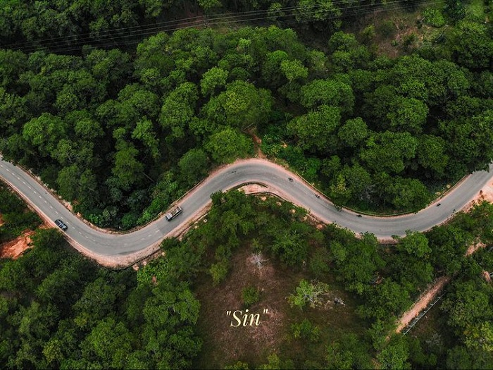 Cloud hunting on Da Phu hill - the way