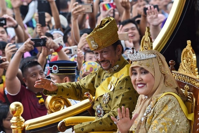 His Majesty the Sultan's Birthday is in brunei