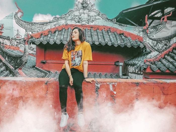 About the Ngoc Hoang pagoda Saigon