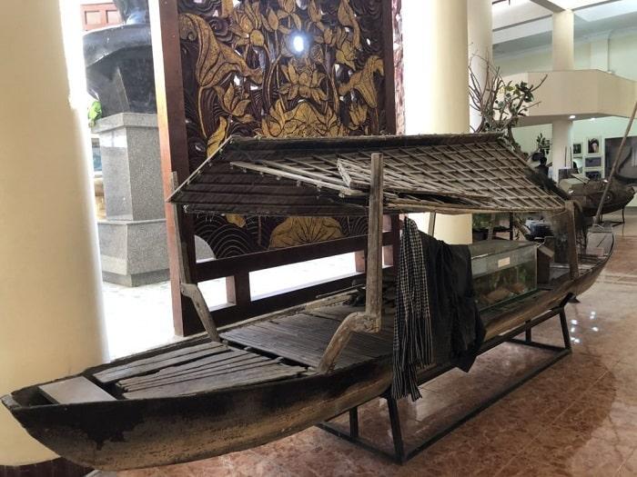 khu trung bay trong bao tang dong thap du lich cao lanh