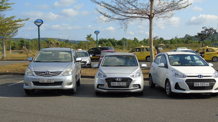 Experience in self-driving car rental in Phu Quoc - Kien Giang Xanh car rental company in Phu Quoc