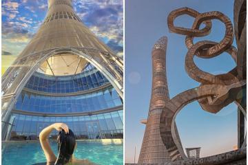 Đến Doha thăm tháp Aspire - Công trình kiến trúc biểu tượng của Qatar