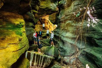 Hang Dơi Tiên An Quảng Nam - vẻ đẹp hoang sơ nơi thời gian lắng đọng