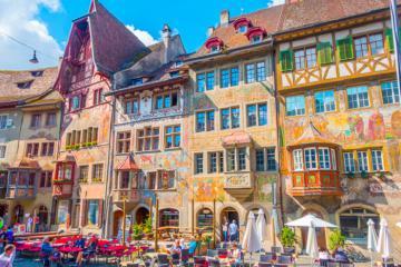 Stein am Rhein - thị trấn cổ đẹp bậc nhất Thụy Sĩ
