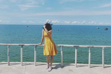 Về Gành Son Bình Thuận đắm mình trong những gam màu rực rỡ