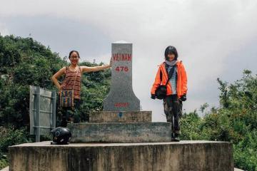 Thả hồn vào mây trời vời vợi tại cửa khẩu Săm Pun Hà Giang