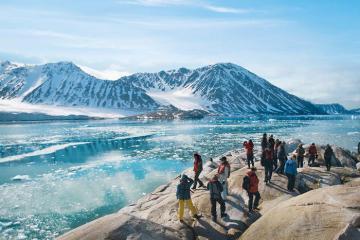 'Thủ đô' của Bắc Cực: nơi khách đến mà chẳng cần visa