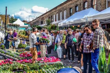 Thỏa sức mua sắm tại những khu chợ trời ở London nổi tiếng nhất