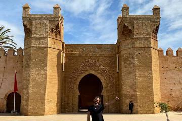 'Lạc' đến thời kỳ thịnh vượng của La Mã cổ đại tại khu di tích Chellah ở Maroc