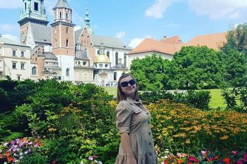 Nét đẹp nghệ thuật tại tòa lâu đài cổ Wawel Ba Lan