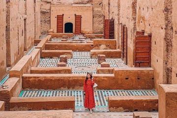 Tới cung điện El Badi tìm về thời đại huy hoàng của Marrakesh