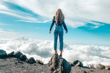 'Phá đảo' vườn quốc gia Haleakala tuyệt đẹp ở Hawaii