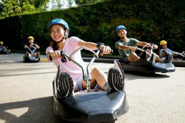 Thách thức mọi giới hạn với trò đua xe trượt Skyline Luge ở Sensota