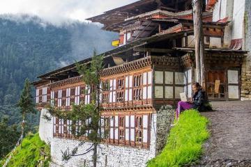 Tu viện Cheri – điểm hành hương linh thiêng bậc nhất ở Bhutan