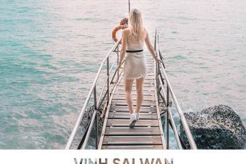 'Sống ảo' cực chất bên cây cầu dẫn ra biển vịnh Sai Wan Hồng Kông