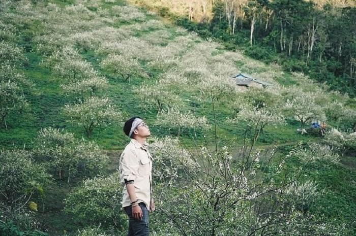 khám phá  thung lũng mận Mu Náu