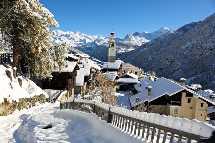 Aosta, thung lũng Aosta - Những địa điểm ở Ý giống như trong truyện cổ tích