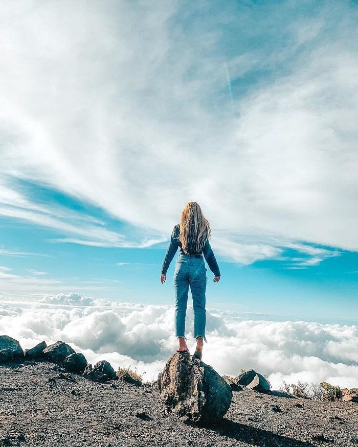 mây trên đỉnh - kỳ quan tuyệt đẹp tại vườn quốc gia Haleakala